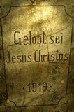 Éloge Jesus Christ Photos libres de droits