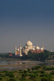 Éloigné de Taj Mahal Photographie stock