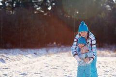 Éloigner les froids d'hiver Photographie stock