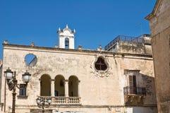 Éloquence de purgatoire. Grottaglie. La Puglia. l'Italie. Photographie stock