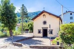Éloquence de San Rocco dans Ligonchio, Italie Photos stock