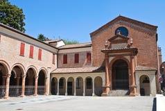 Éloquence de St Anna. Ferrare. Émilie-Romagne. L'Italie. Images stock