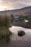 Éloquence de St Finbarre, Gougane Barra, liège occidental, Irlande Image stock