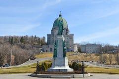 Éloquence du ` s de Saint Joseph de royal de bâti situé à Montréal Image libre de droits