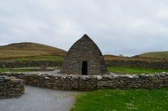 Éloquence en pierre de Gallarus en Irlande Image stock