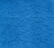 Émail bleu d'effet de marteau Photos stock