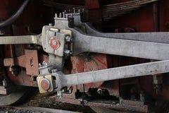 Émbolos de la locomotora de vapor Imágenes de archivo libres de regalías