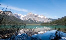 Émeraude de lac Image libre de droits