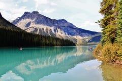 Émeraude de lac Photos libres de droits
