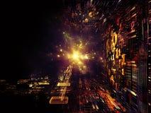 Émergence des royaumes de fractale Image libre de droits
