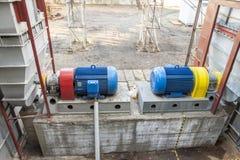 Émet de la vapeur le système de ventilation Photographie stock libre de droits