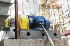 Émet de la vapeur le système de ventilation Photo stock
