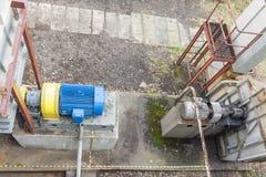 Émet de la vapeur le système de ventilation Photos stock