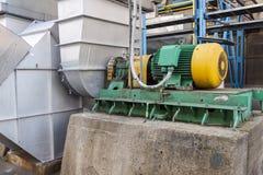 Émet de la vapeur le ventilateur. Image stock