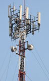 Émetteur cellulaire Photos libres de droits