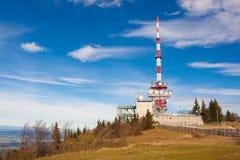 Émetteur de Gaisberg, Salzbourg, Autriche Images stock