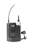Émetteur de microphone Image libre de droits
