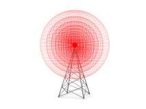 Émetteur de signal Images libres de droits