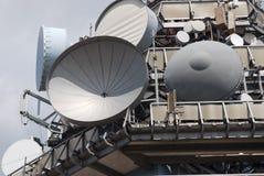 Émetteur de télécommunications Photographie stock