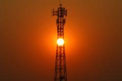 Émetteur de téléphone mobile Photo stock