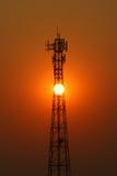 Émetteur de téléphone mobile Images stock