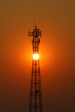 Émetteur de téléphone mobile Photos libres de droits