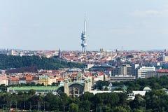 Émetteur de Zizkov Images stock