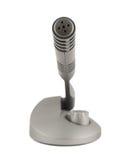 Émetteur en plastique sans fil de microphone d'isolement Photos libres de droits