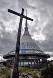 Émetteur et la croix Photo libre de droits
