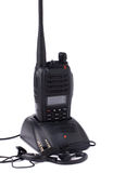 Émetteur portatif de radio UHF Images libres de droits