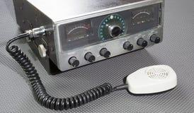 Émetteur-récepteur antique Photos libres de droits