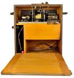 Émetteur-récepteur du raid aérien Ww2 Photos libres de droits