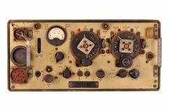Émetteur-récepteur par radio du réservoir ww2 Images libres de droits