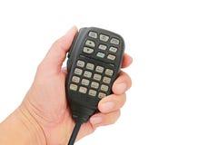 Émetteur-récepteur par radio mobile Image libre de droits