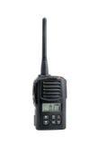 Émetteur-récepteur par radio sur le fond blanc photos libres de droits