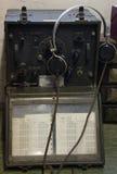 Émetteur radioélectrique de la deuxième guerre mondiale Photographie stock