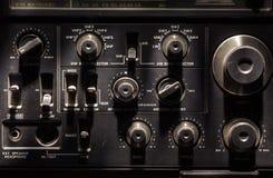 Émetteur radioélectrique et récepteur Image libre de droits