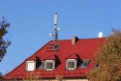 Émetteur radioélectrique mobile Photos libres de droits