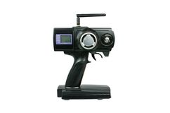 Émetteur (RC) commandé par radio pour les voitures modèles Photographie stock libre de droits