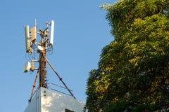 Émetteur satellite Image libre de droits