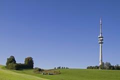 Émetteur sur Hohenpeissenberg Image stock