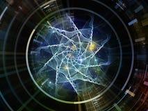 Émetteur virtuel de l'espace Photo libre de droits