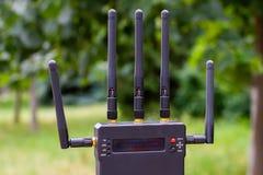 Émetteur visuel sans fil Images libres de droits