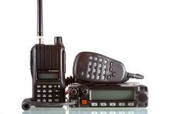 Émetteurs-récepteurs par radio Image libre de droits