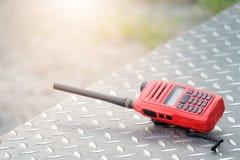 Émetteurs radioélectriques de talkie-walkie Photographie stock libre de droits
