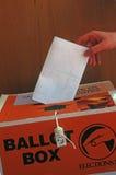 Émettez votre vote Images libres de droits