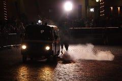 Émeute Photographie stock