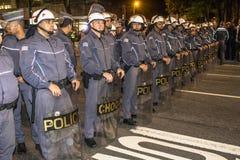 émeute Photos stock