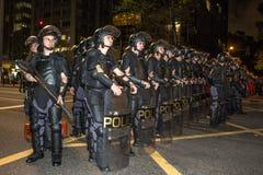 émeute Photo stock