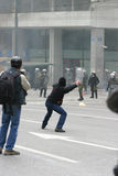 Émeutes Photo libre de droits